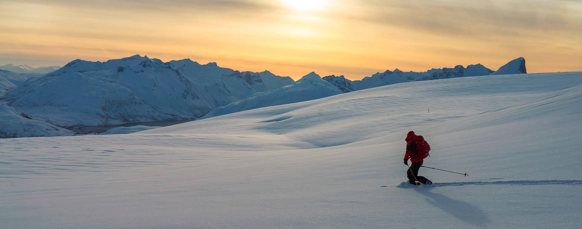 Skiing Tromso