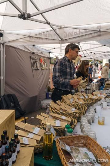 Farmers market tromso