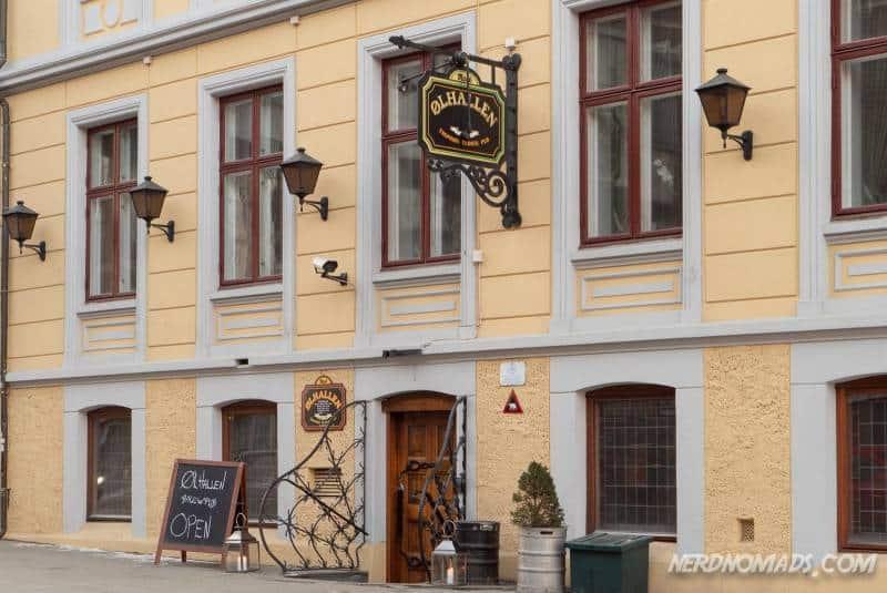 The famous Olhallen is Tromso's oldest pub