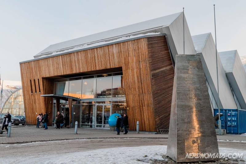 Polaria is a great museum in Tromso