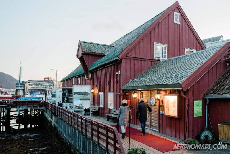 The Polar Museum in Tromso, Norway