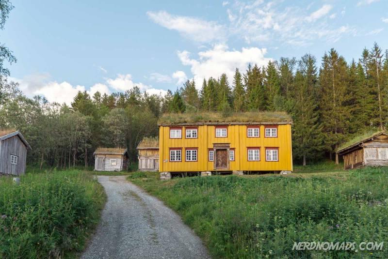 The Folkeparken Tromso Open-Air Museum is beautiful