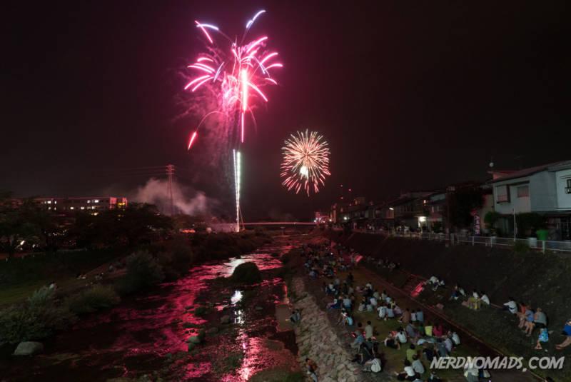 Fireworks Takayama