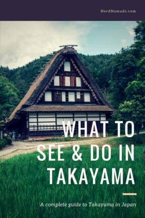 What to see and do in Takayama Japan