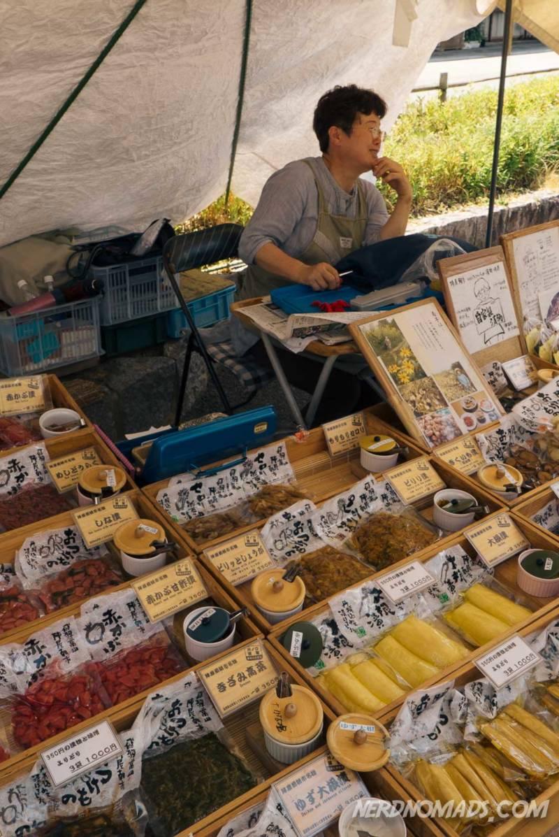 Takayama morning market