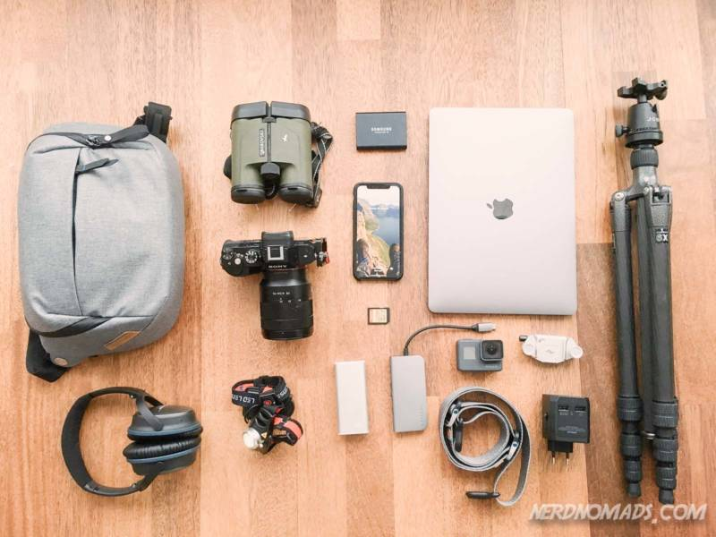 What gear and electronics to pack for a trip to Tromso