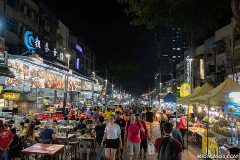 Jalan Alor - KL's famous hawker street