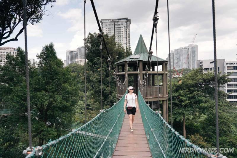 Canopy walk ECO Park Kuala Lumpur