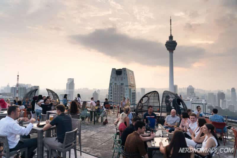 Heli Lounge Bar Kuala Lumpur