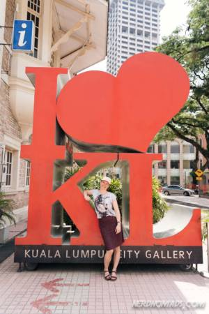 I love KL city gallery kuala lumpur