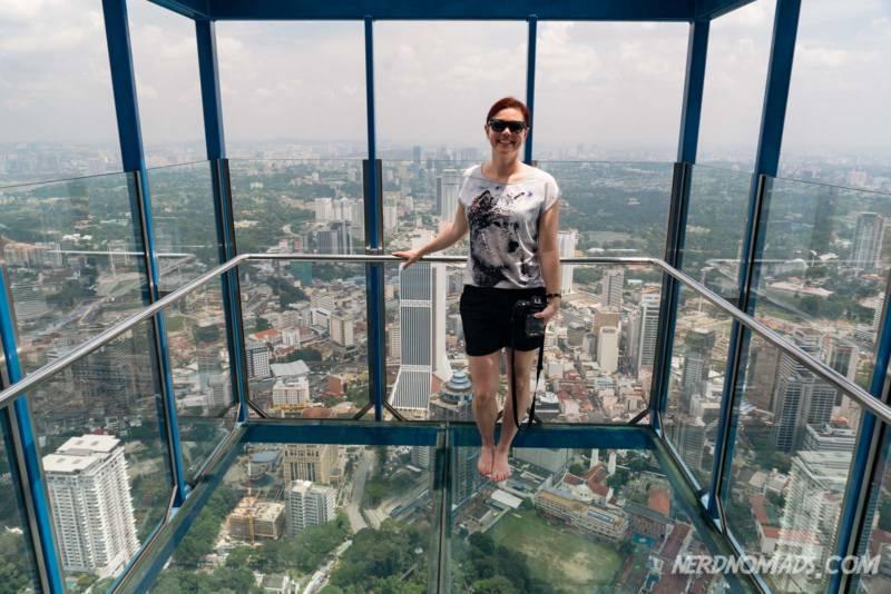 Open Air Box at KL Tower