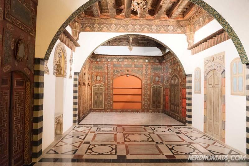 Ottoman room Islamic Arts Museum Kuala Lumpur