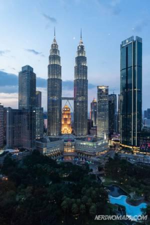 Traders Hotel skybar Kuala Lumpur