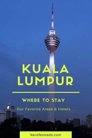 Where to stay in Kuala Lumpur
