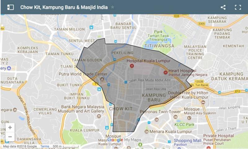Chow Kit, Kampung Baru & Masjid India