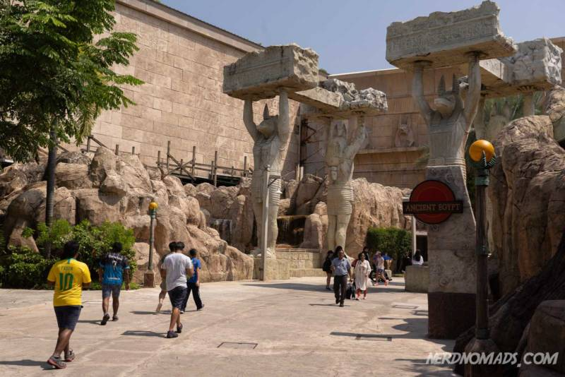 Ancient Egypt Universal Studios Singapore
