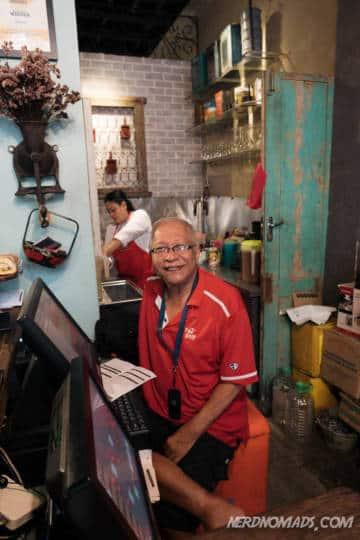 Baba at Limapulo Restaurant KL