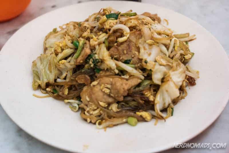Bee Hoon at Hong Ngek Restaurant