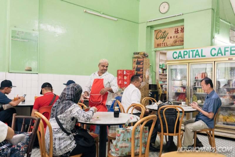 Capital Cafe in KL