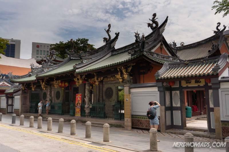Chinese Temple Chinatown Singapore