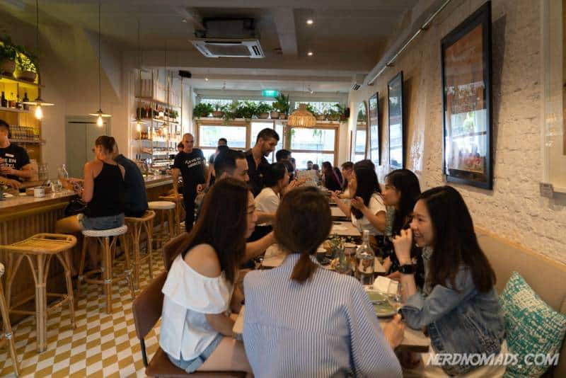 Cafe Marcel Thiong Bahru Singapore