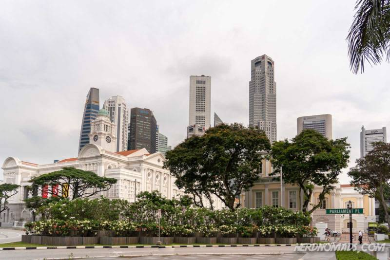 Historic district Singapore