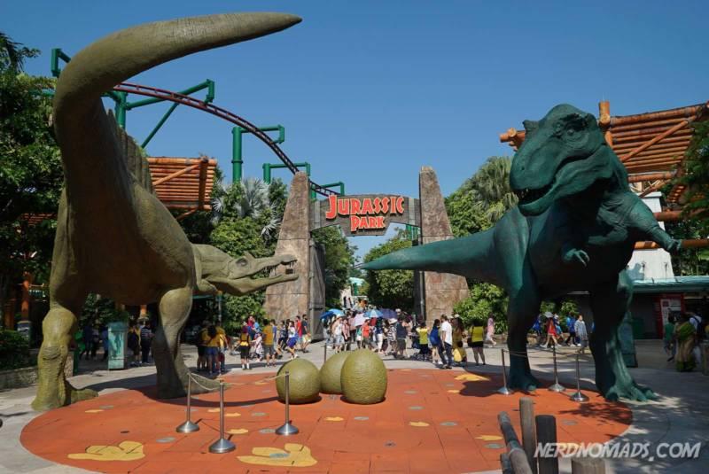 Jurassic Park Universal Studios Singapore