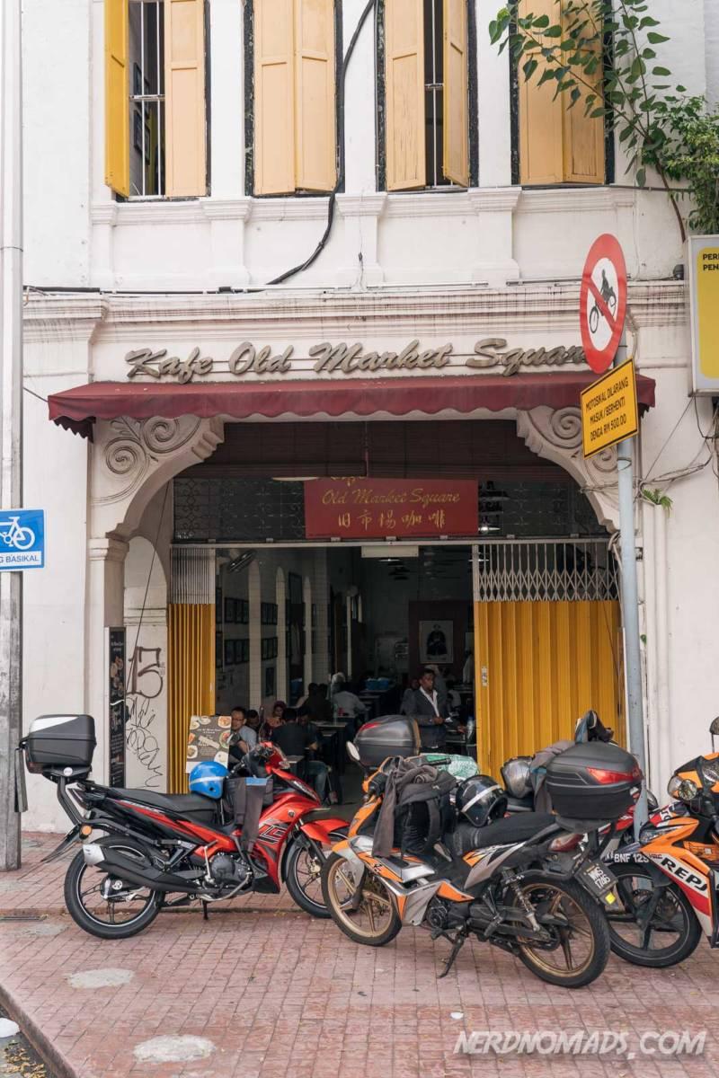 Kafe Old Market Square in KL