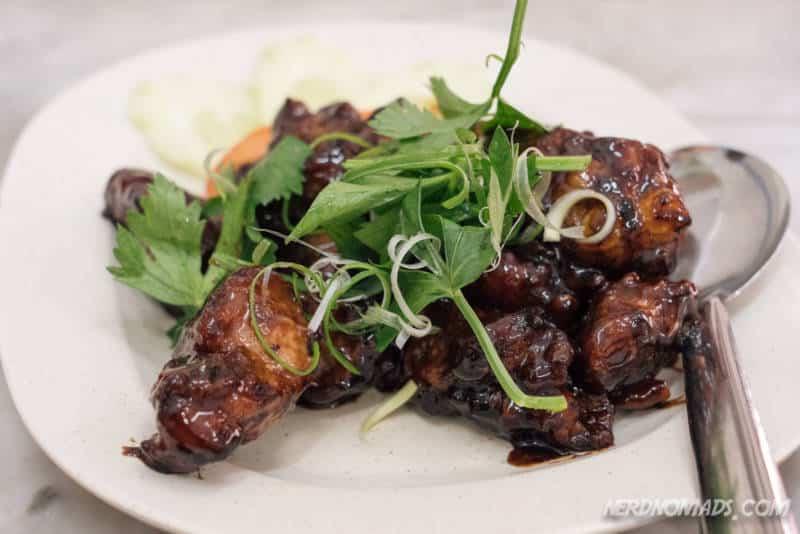 Pork Ribbs at Hong Ngek Restaurant in KL