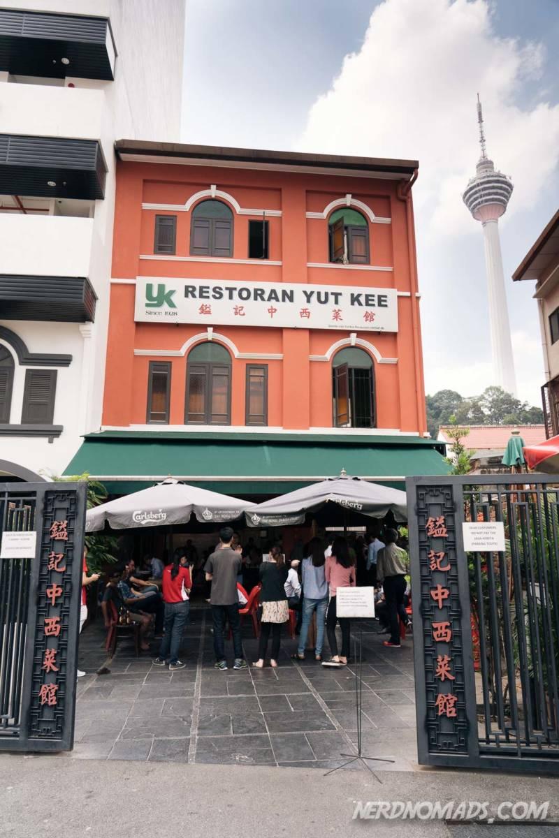 Restorant Yut Kee in KL