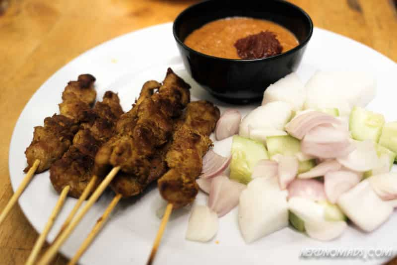 Sate at Limapulo