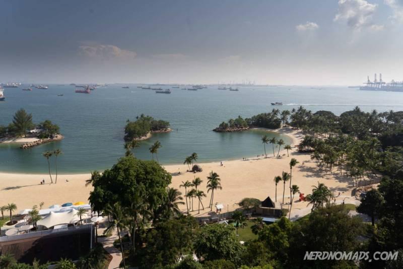 Beach Sentosa Island Singapore