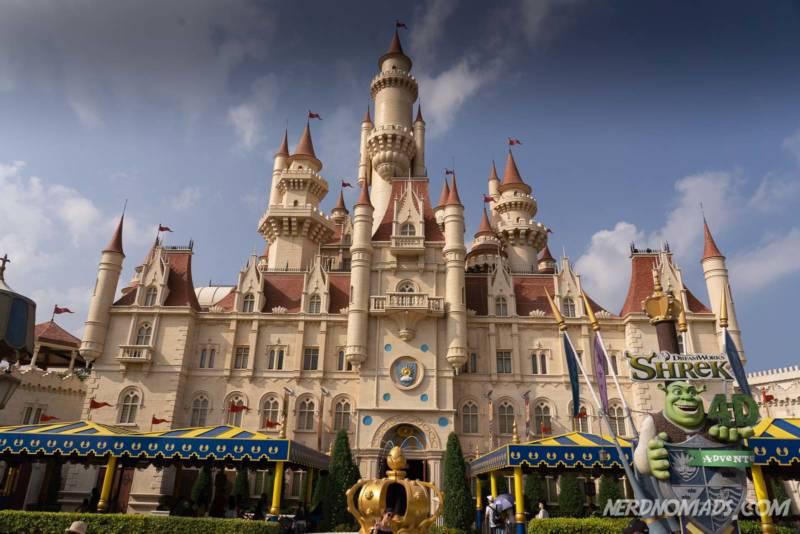 Shrek Castle Universal Studios Singapore