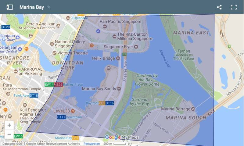 Marina Bay Map