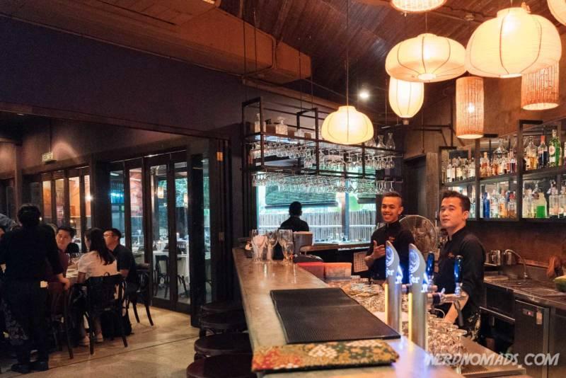 Bar at Bijan Restaurant KL