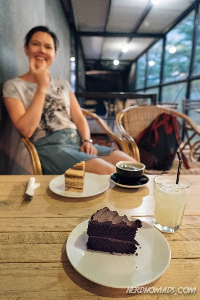 Cakes at VCR Cafe KL