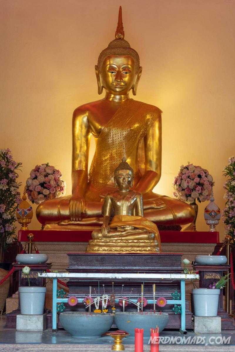 Gold Buddha at Golden Mount Bangkok