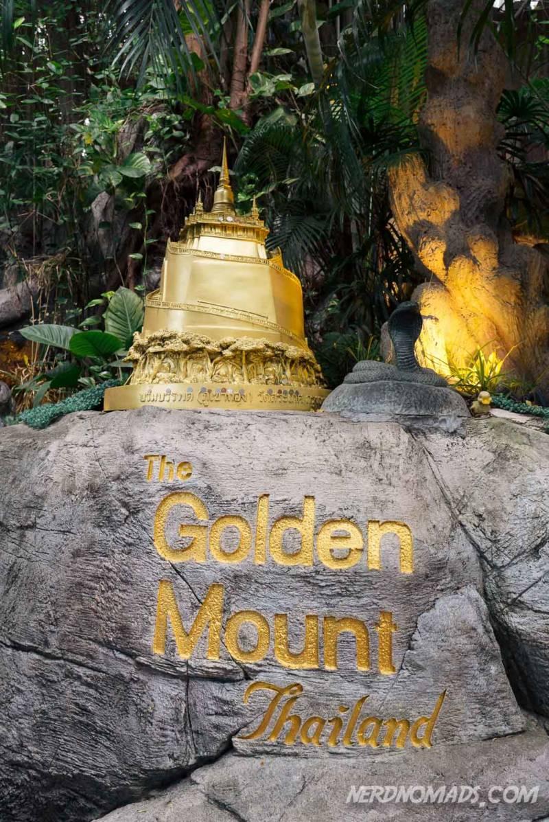 Golden Mount entrance