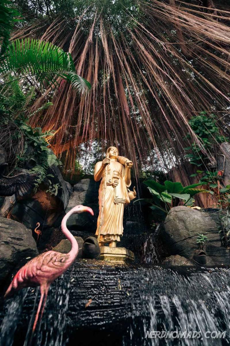 Golden statue at Golden Mount