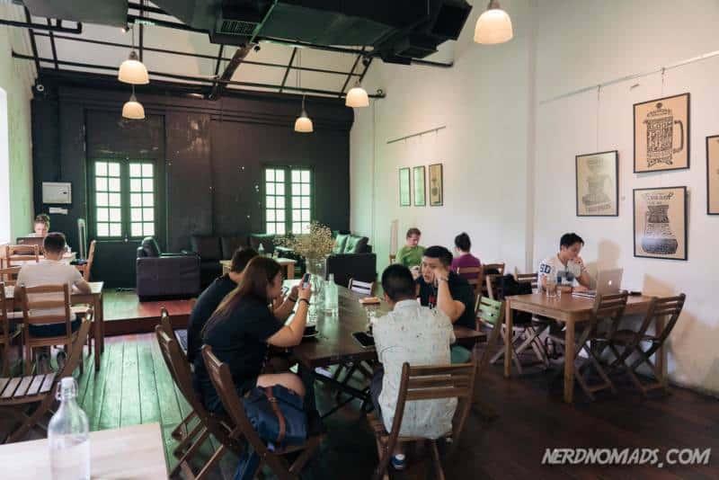 Inside VCR Cafe KL
