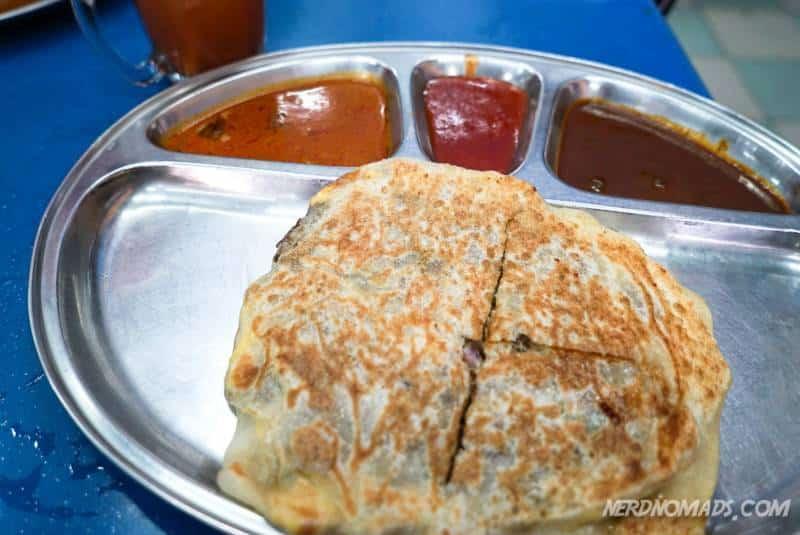 Murtabak at Yusoof Dan Zakhir Restaurant KL