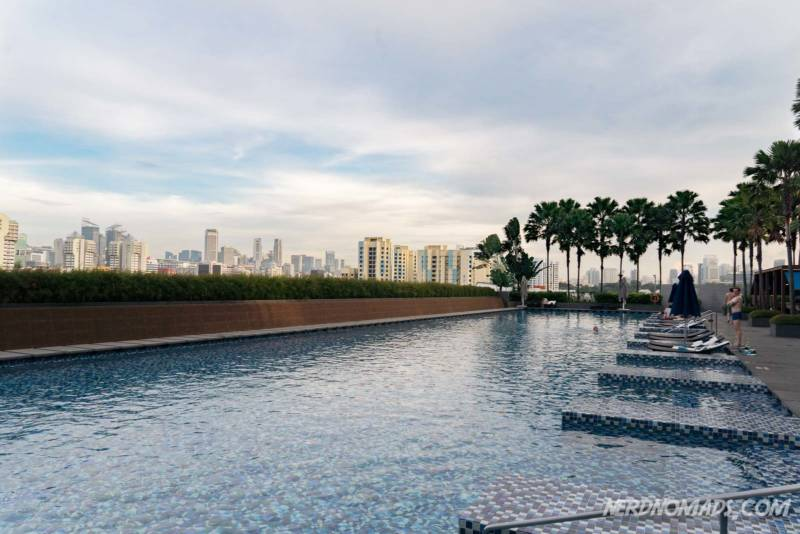 Swimming pool One Farrer Hotel Singapore