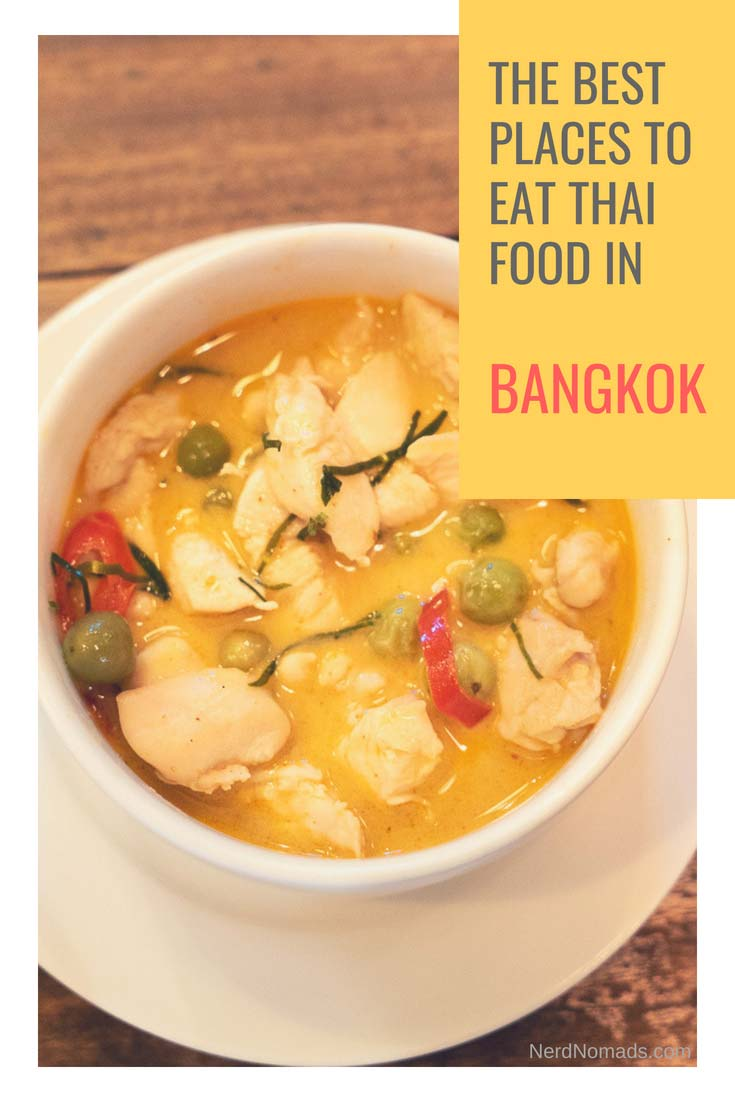 The ultimate Bangkok Food Guide with a list of the best places to eat delicious Thai Food in Bangkok! Bangkok Street Food | Bangkok Food Restaurants | Bangkok Food Market