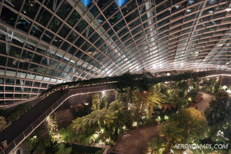 Cloud Walk Gardens by the bay Singapore