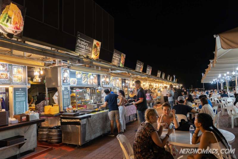 Gluttons Bay Food Market Singapore