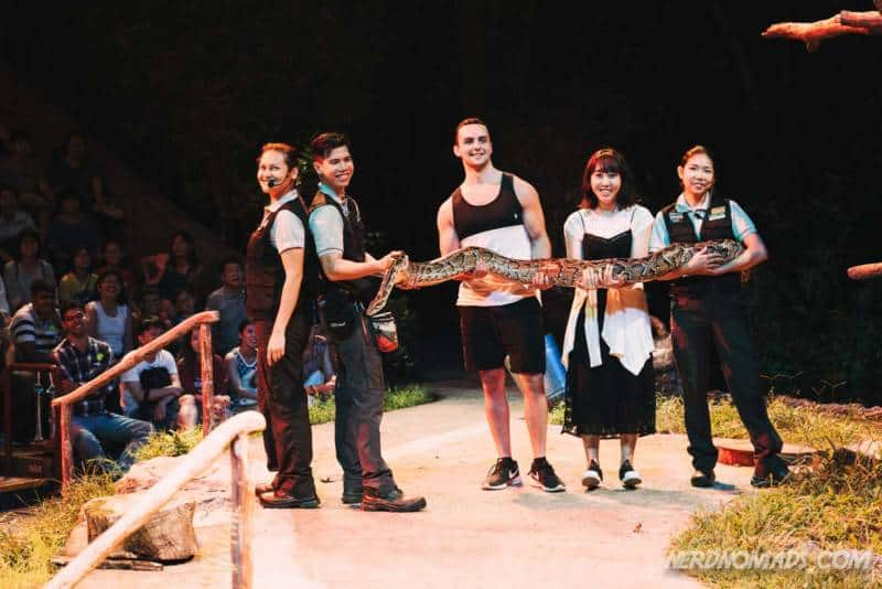 Show Night Safari Singapore