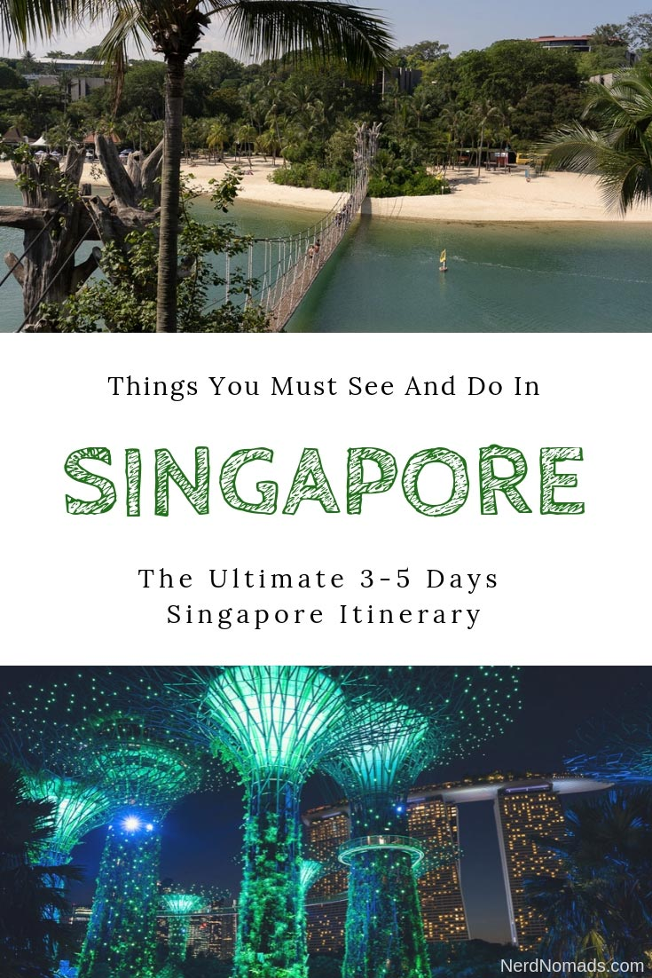 The Ultimate Singapore Itinerary (3-5 days) with a day-by-day schedule of things to do in Singapore and all the top Singapore attractions. Singapore Travel | Singapore Photography | Singapore Food | Singapore Orchard Road | Singapore shopping | Sentosa Island | Singapore Universal Studios | Singapore Marina Bay Sands | SEA Aquarium