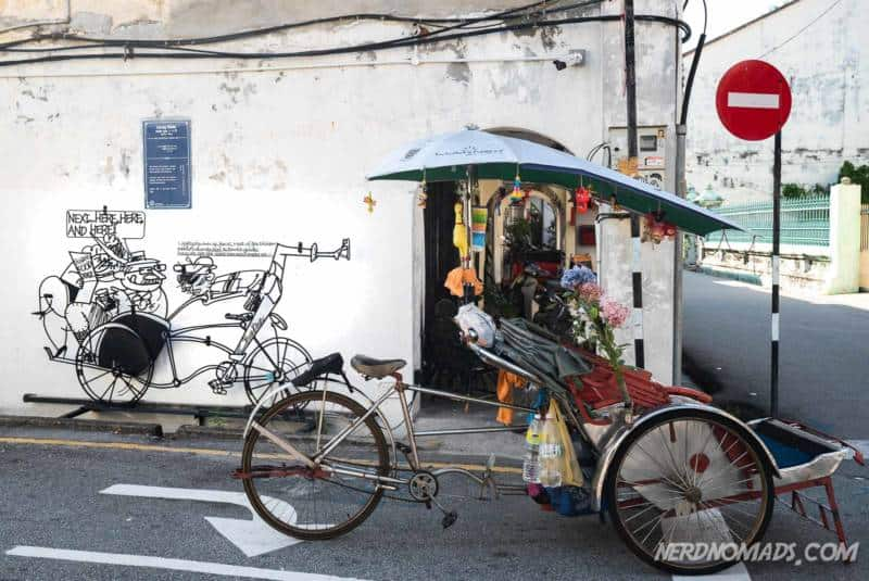 Beca street art George Town Penang