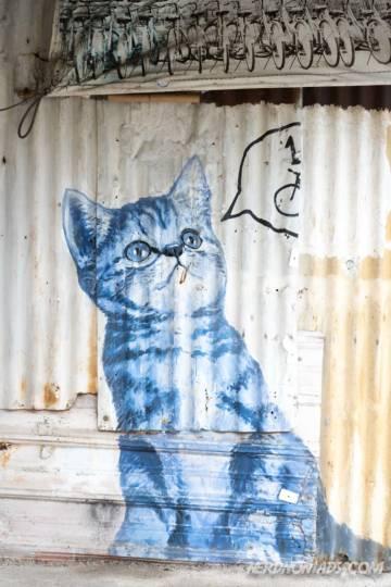 102? Copy Cat! mural George Town Penang