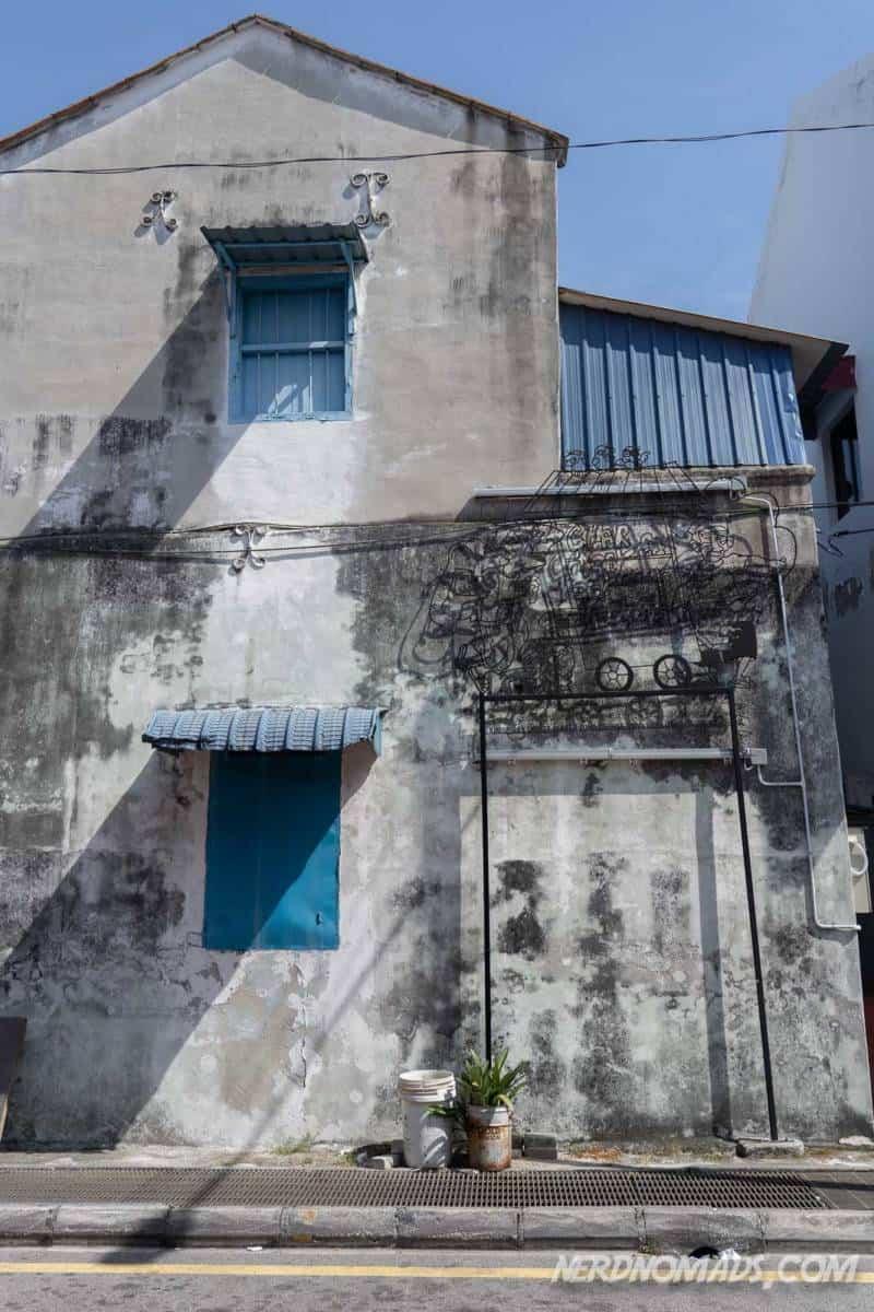 Three generations street art George Town Penang